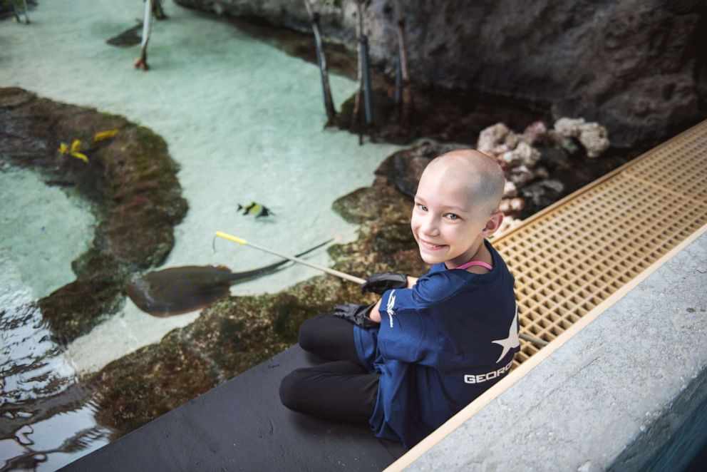 PHOTO: Dakota, 9, has juvenile pilocytic astrocytoma (JPA), a rare childhood brain tumor and wants to be a marine biologist when she grows up.