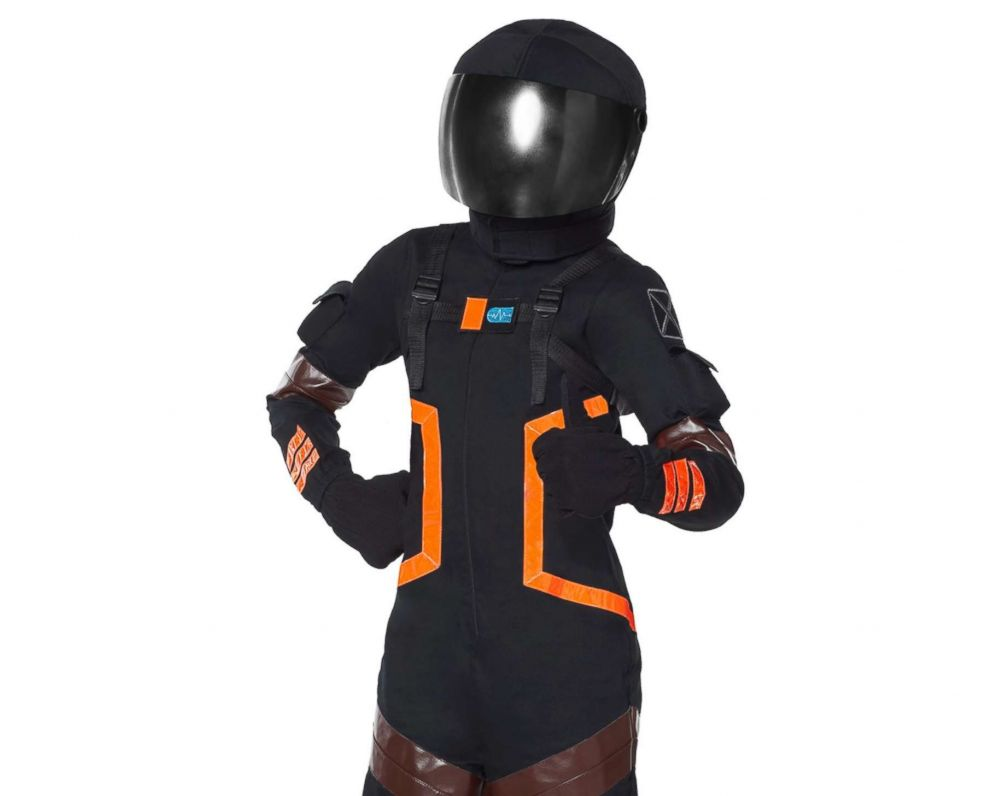 PHOTO: The kids dark voyager costume from Fortnite is available for $59.99.