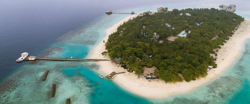 PHOTO: Aerial view of Kihaa Maldives.
