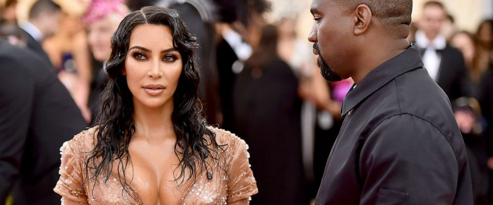 PHOTO: Kim Kardashian West and Kanye West attend The 2019 Met Gala Celebrating Camp: Notes on Fashion at Metropolitan Museum of Art on May 06, 2019, in New York.
