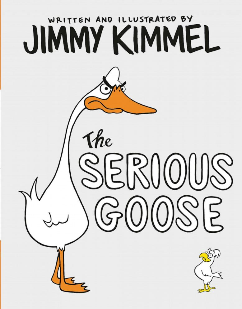 PHOTO: Jimmy Kimmel wrote, illustrated and hand-lettered his new book The Serious Goose.