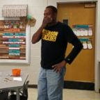 Mr. James Anthony has been the custodian at Hickerson Elementary School for 15 years.