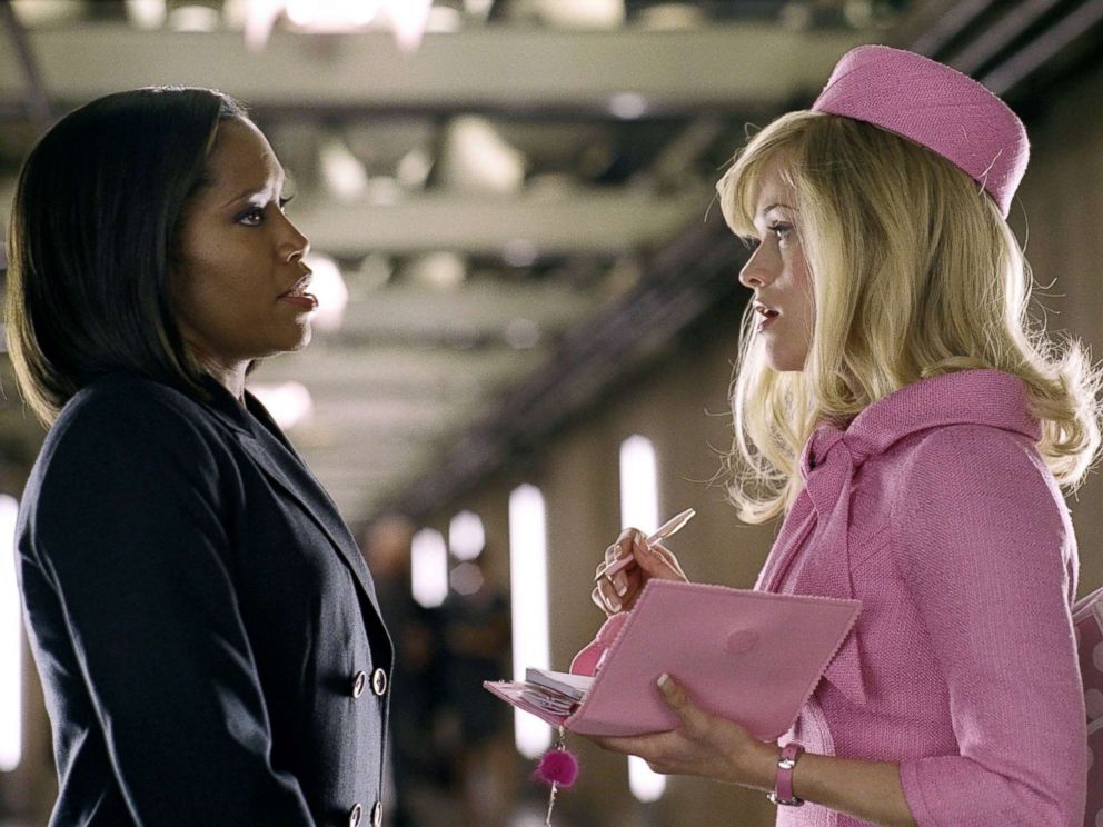 PHOTO: Regina King, left, and Reese Witherspoon in a scene from Legally Blonde 2: Red White And Blonde.