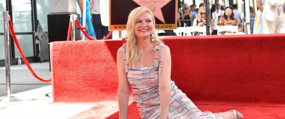 PHOTO: Kirsten Dunst attends the ceremony honoring her with a star on the Hollywood Walk of Fame on Aug. 29, 2019 in Hollywood, Calif.