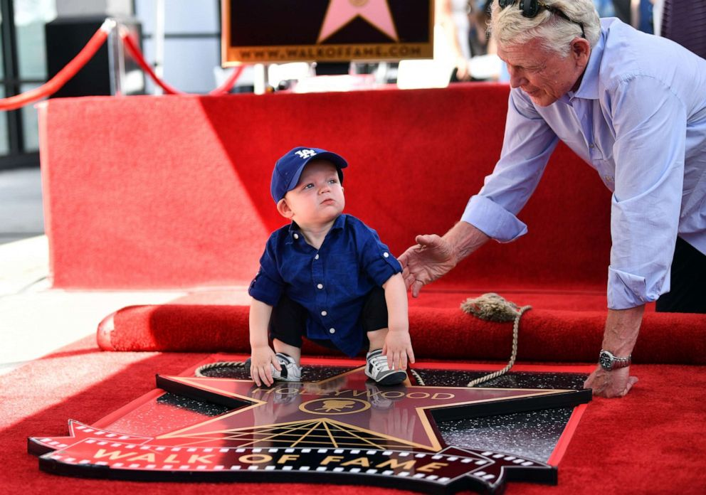 PHOTO: Kirsten Dunsts son, Ennis Howard Plemons, attends the ceremony honoring his mother with a star on the Hollywood Walk of Fame on Aug. 29, 2019 in Hollywood, Calif.