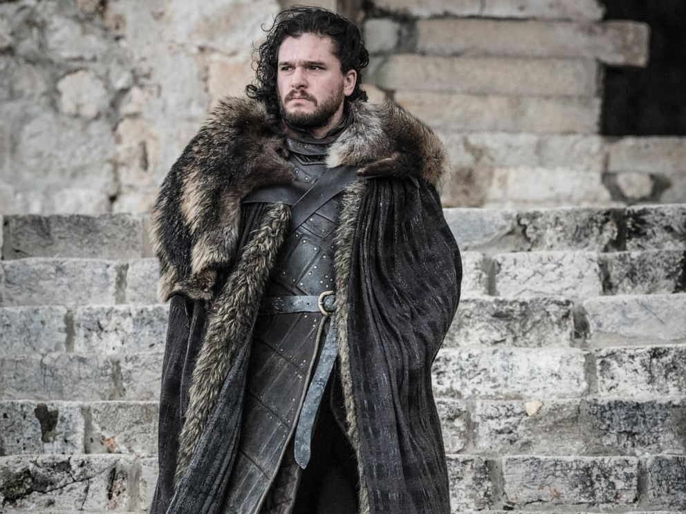PHOTO: Kit Harington in a scene from Game of Thrones.