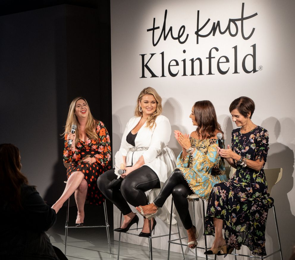 PHOTO: Panel ahead of The Knot x Kleinfeld Fashion Show.