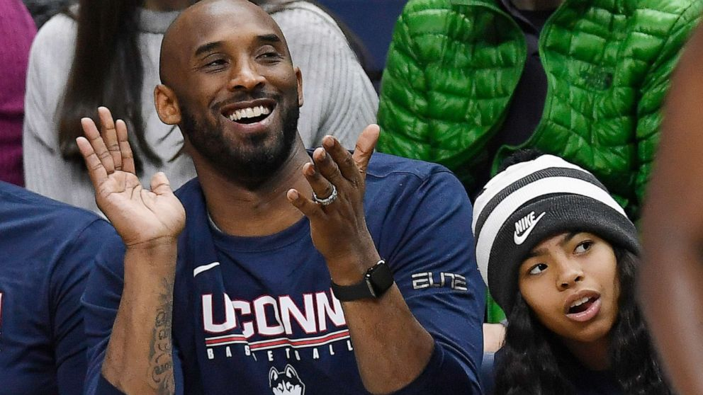 Uconn Pays Tribute To Kobe Bryant S Daughter Gianna Mambacita Is Forever A Husky Gma