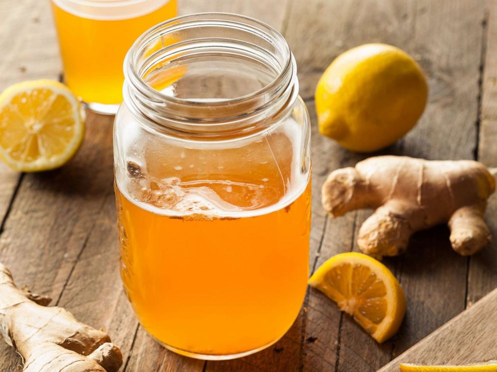 PHOTO: Homemade fermented raw kombucha tea is pictured in an undated stock photo.