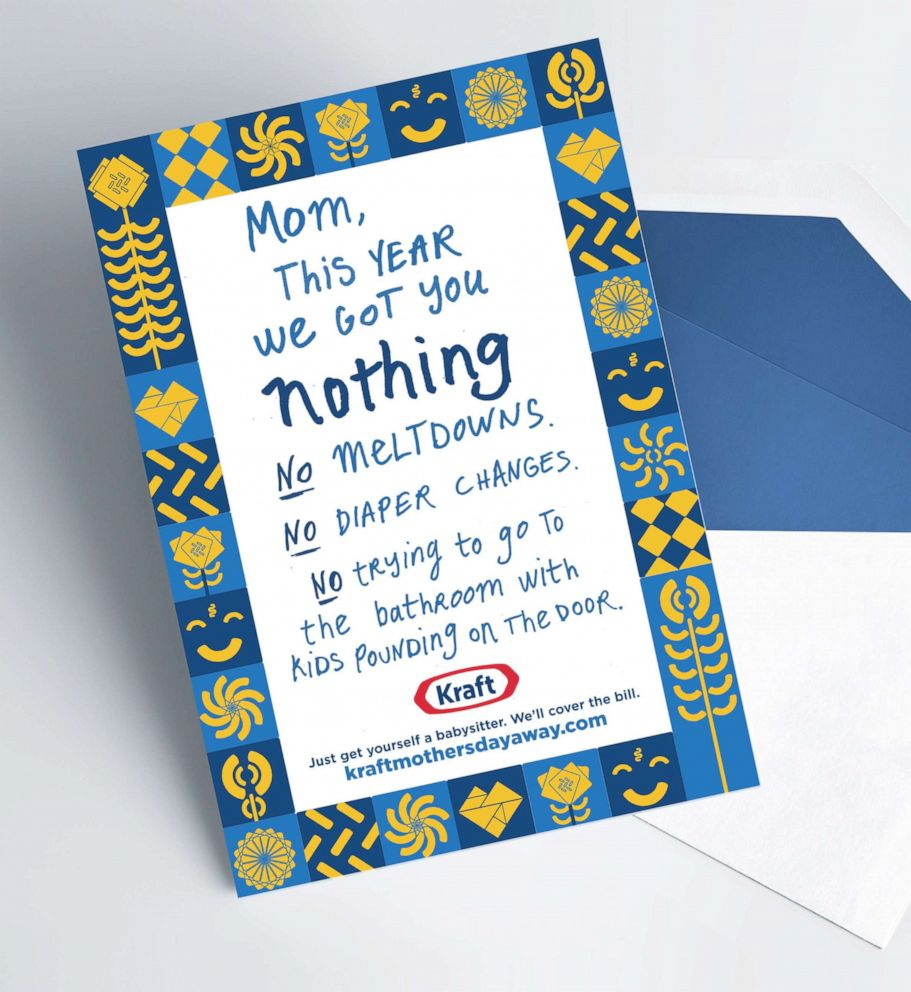 PHOTO: Kraft is running a promotion for mothers day.