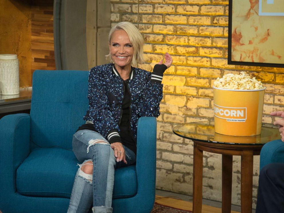 PHOTO: Kristin Chenoweth appears on Popcorn with Peter Travers at ABC News studios in New York City, July 17, 2018.