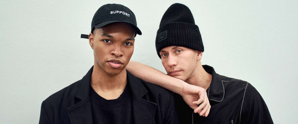 PHOTO: Samuel Krost, right, is the founder of fashion brand Krost, and Scott Camaran, left, is the labels creative director.