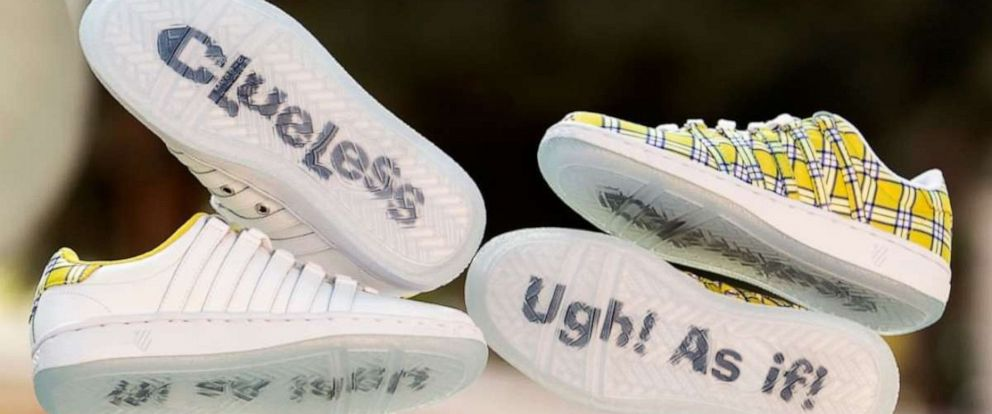 "PHOTO: K-Swiss is launching ""Clueless"" - inspired sneakers according to a post on their Instagram page."