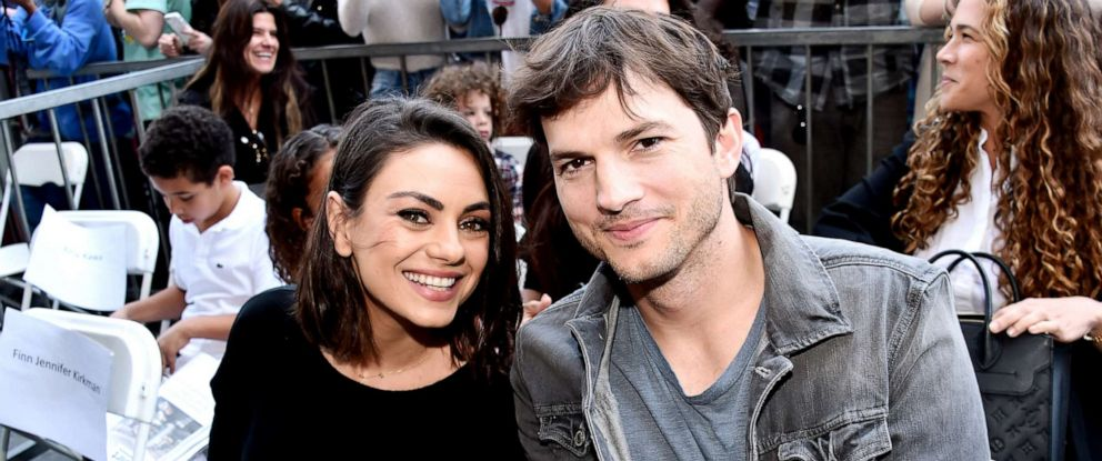 PHOTO: Mila Kunis and Ashton Kutcher attend an event on May 3, 2018, in Hollywood, Calif.