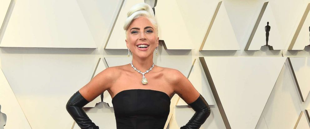PHOTO: Lady Gaga arrives at the Oscars, Feb. 24, 2019, at the Dolby Theatre in Los Angeles.