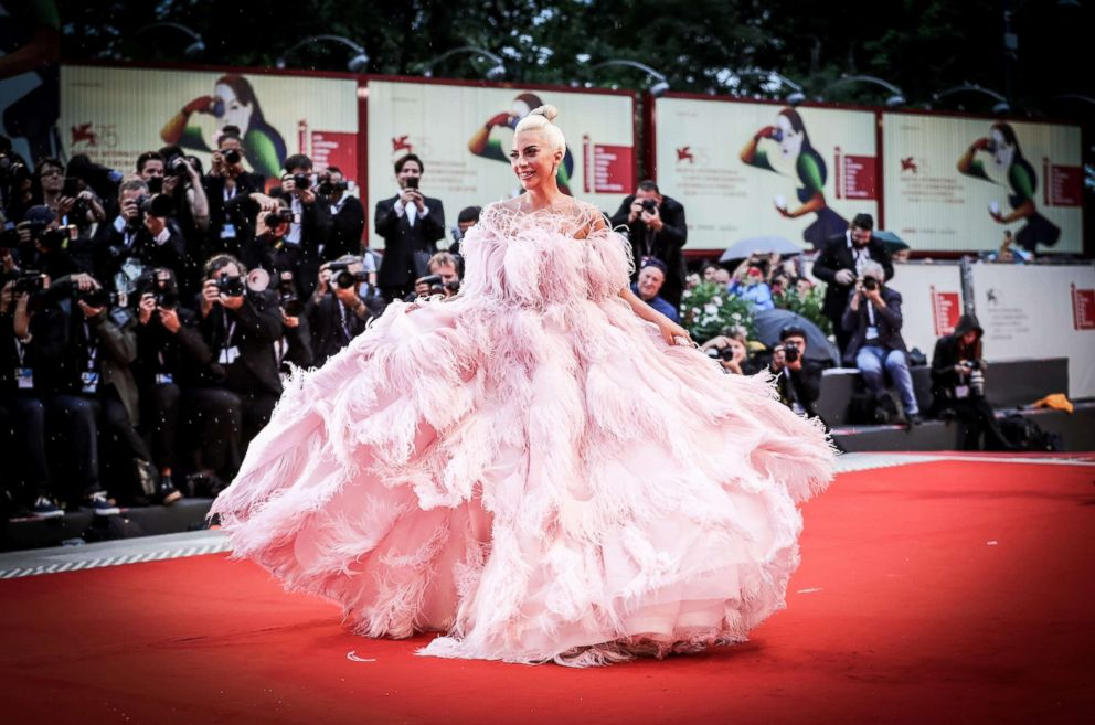 PHOTO: Lady Gaga walks the red carpet ahead of A Star Is Born screening during the 75th Venice Film Festival on Aug. 31, 2018 in Venice, Italy.