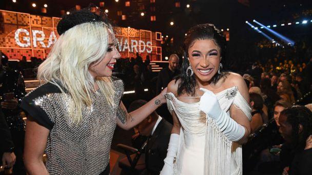 Lady Gaga supports Cardi B after Grammys win backlash