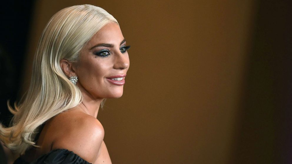 Actress and singer Lady Gaga attends a gala hosted by the Academy of Motion Picture Arts and Sciences in Hollywood, Calif., Nov. 18, 2018.