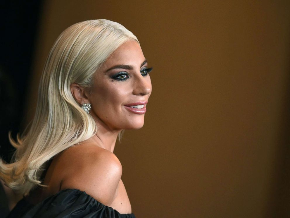 PHOTO: Actress and singer Lady Gaga attends a gala hosted by the Academy of Motion Picture Arts and Sciences in Hollywood, Calif., Nov. 18, 2018.