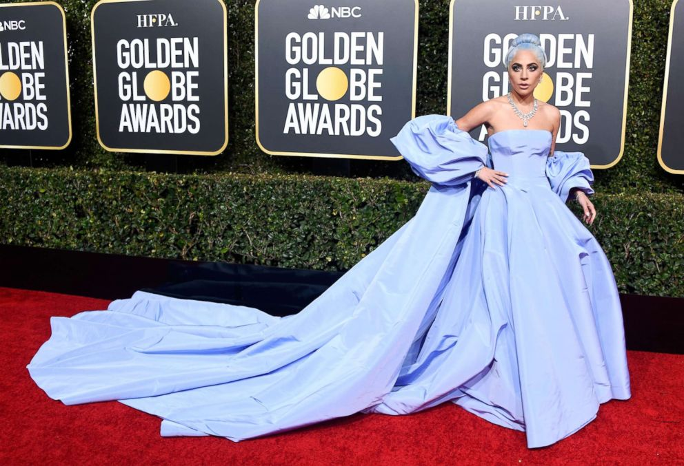 PHOTO: Lady Gaga attends the 76th Annual Golden Globe Awards at The Beverly Hilton Hotel on Jan. 6, 2019 in Beverly Hills, Calif.