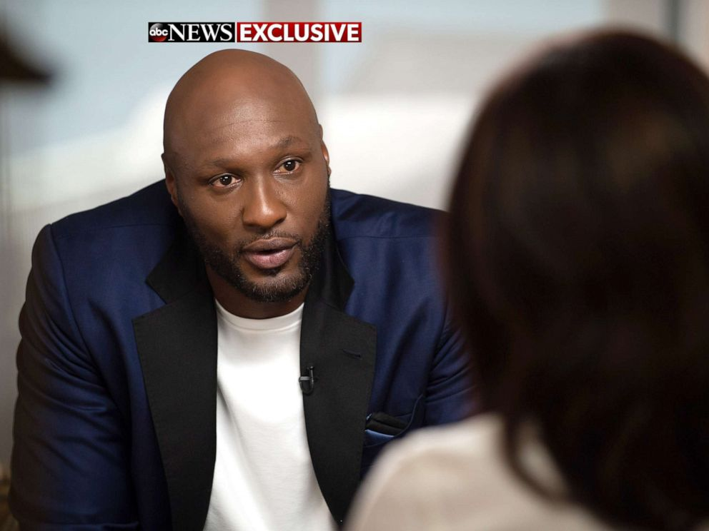 PHOTO:ABC News Juju Chang sat down with NBA player Lamar Odom, who opens up on an overdose that nearly took his life in a new memoir, Darkness to Light.