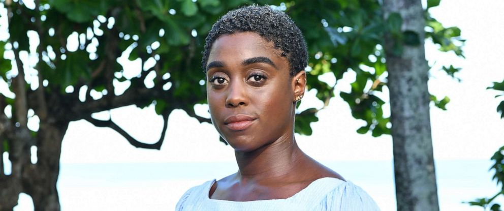 """PHOTO: Lashana Lynch attends the """"Bond 25"""" film launch at Ian Flemings home """"GoldenEye"""" on April 25, 2019 in Montego Bay, Jamaica."""