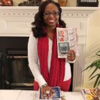 Latiaa Stewart, of Antioch, Tennessee, uses coupons to help provide care packages for homeless people.