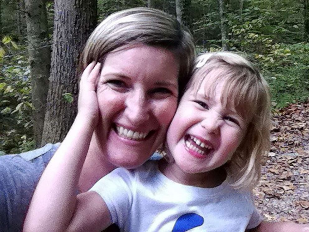 PHOTO: Laura Sullivan-Beckers poses with her 5-year-old daughter Sylvie.