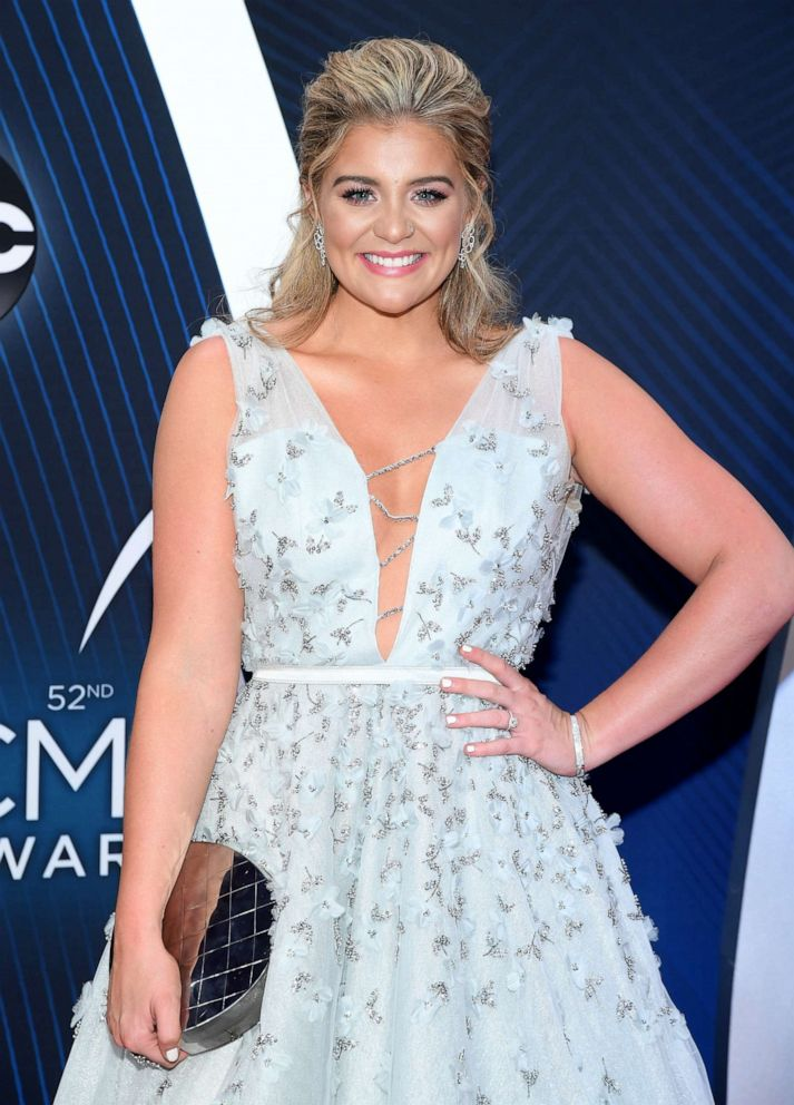 PHOTO: Singer-songwriter Lauren Alaina attends the 52nd annual CMA Awards at the Bridgestone Arena on November 14, 2018 in Nashville, Tennessee.