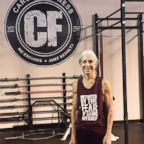 Lauren Bruzzone, 72, trains nearly every day of the week at Carozza Fitness in Stamford, Conn.