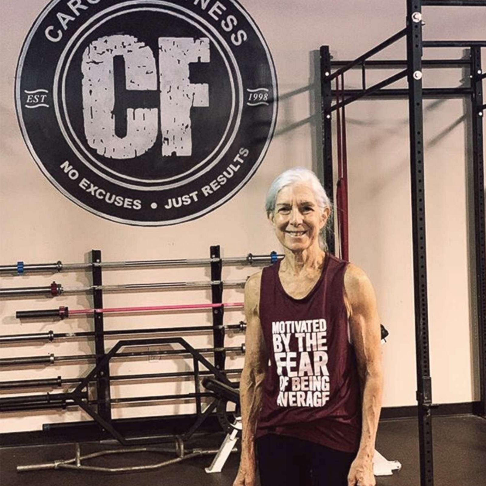 72-year-old woman who does CrossFit daily is serious #workoutgoals | GMA