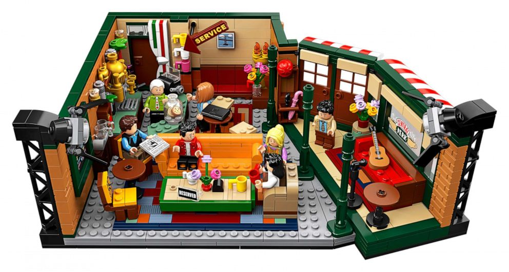 PHOTO: LEGO releases Friends set to celebrate 25th anniversary of the hit sit-com.