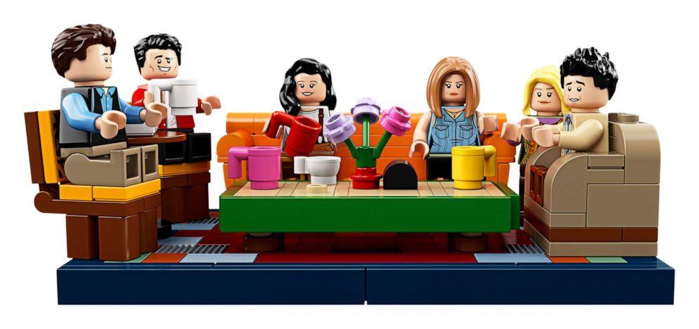PHOTO: LEGO releases seven new mini-figures for Friends 25th anniversary.