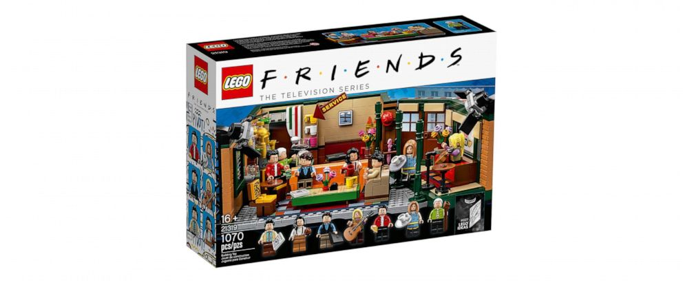 """PHOTO: LEGO celebrates 25th anniversary of hit sit-com """"Friends"""" with new collectible set."""