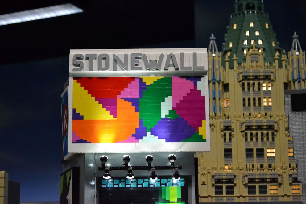 PHOTO: LEGOLAND is marking the 50th anniversary Stonewall uprising.