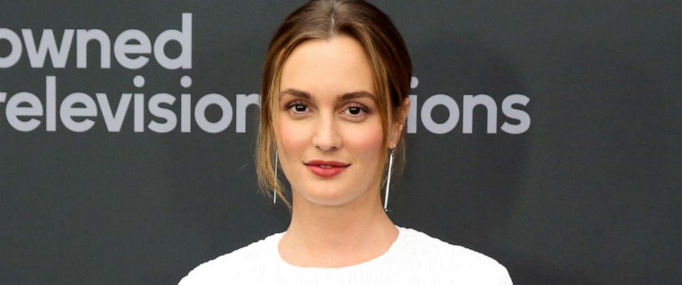 PHOTO: Leighton Meester at the Disney 2019 Upfront Experience at Lincoln Center in New York City, May 14, 2019.