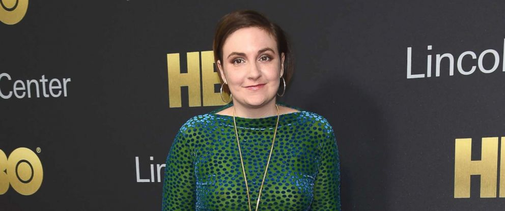 PHOTO: Lena Dunham attends the 2018 Lincoln Center American Songbook gala honoring HBOs Richard Plepler at Alice Tully Hall, Lincoln Center, May 29, 2018, in New York City.