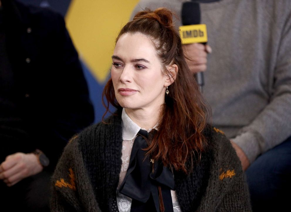 Lena Headey attends an event on Jan/ 28, 2019, in Park City, Utah.