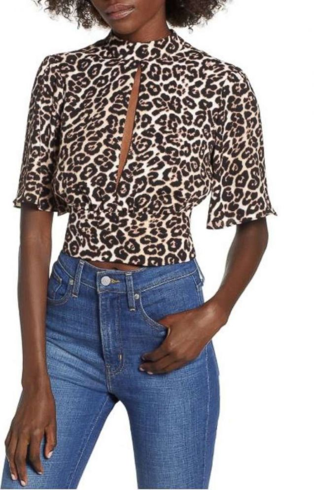 PHOTO: Leopard Bauer shirt at Mango is pictured here.