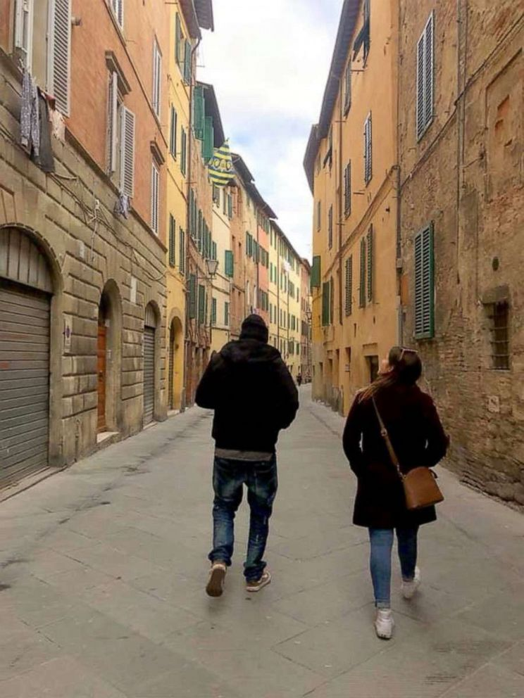 PHOTO: Exploring Siena, Italy with one of our Tour Directors based out of Florence.