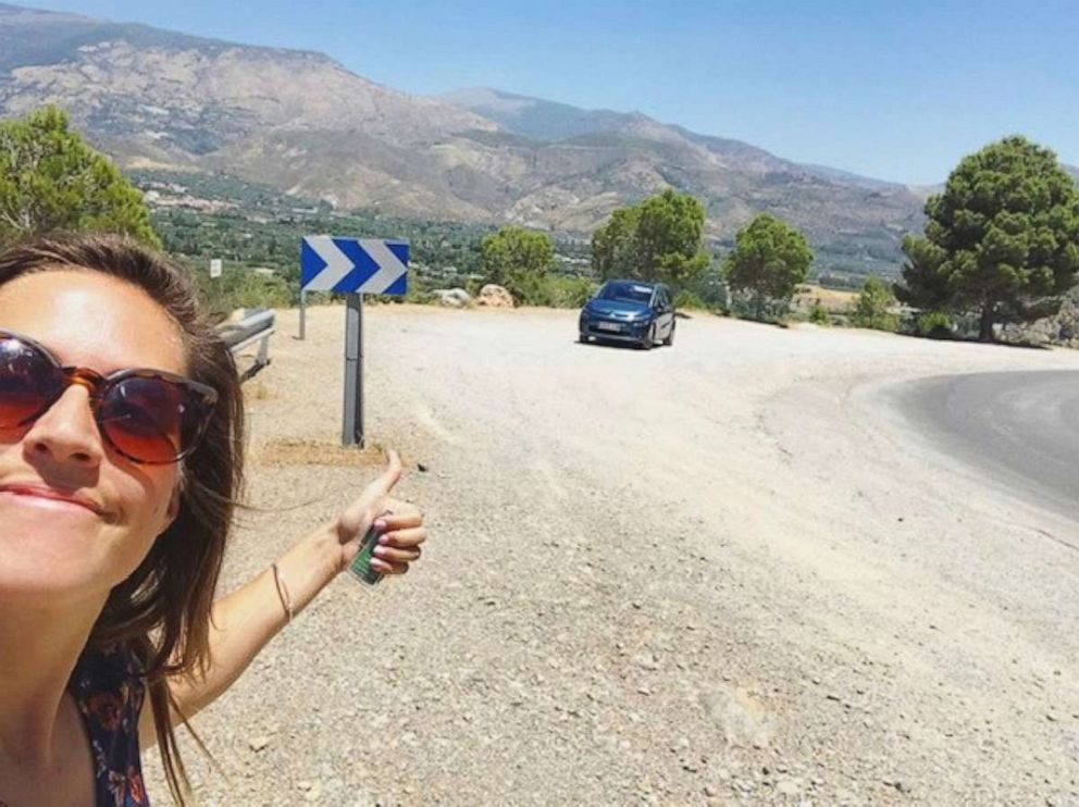 PHOTO: Scouting some new locations in Pampaneira, Spain – rented a car and drove through the Sierra Nevadas.
