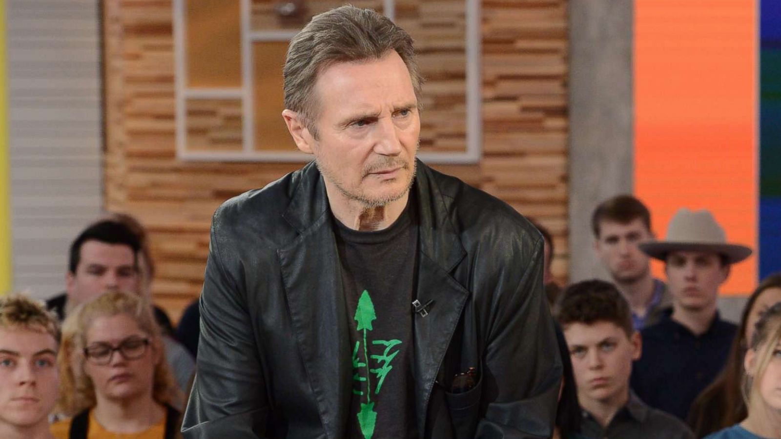 Liam Neeson clarifies previous remarks in 'GMA' interview
