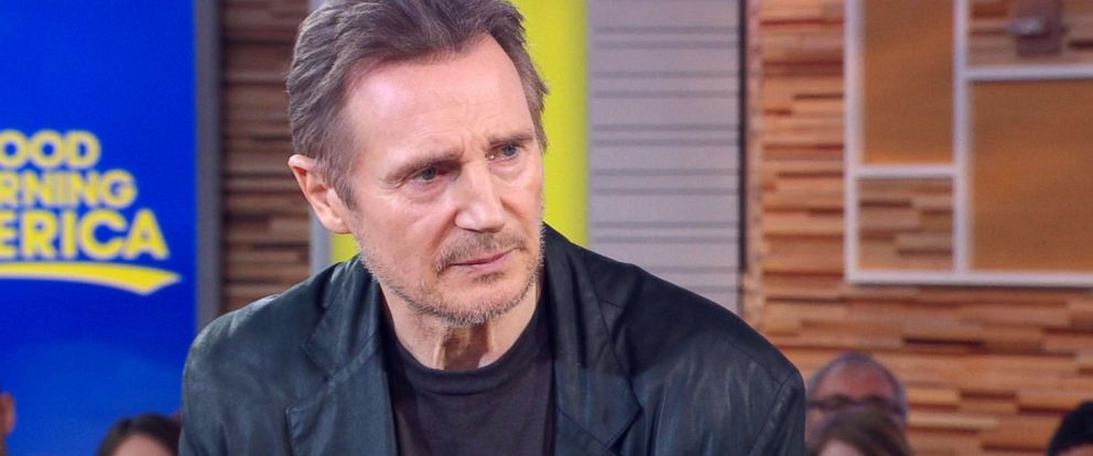 Image result for Liam Neeson good morning america