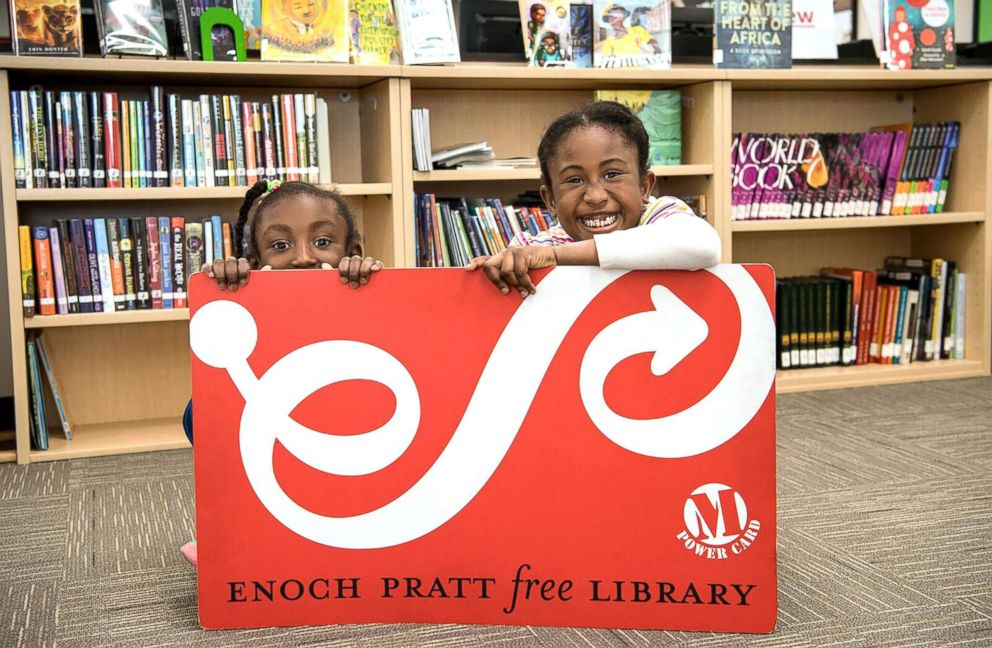 PHOTO: The Enoch Pratt Free Library in Baltimore has become a haven in the community and was picked as a finalist for Readers Digests Nicest Places in America.