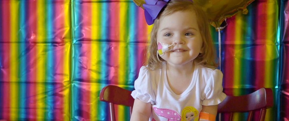 PHOTO: Lilah Joiner of Mississippi is pictured celebrating her 3rd birthday in September 2018.