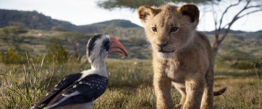 """PHOTO: """"The Lion King,"""" in theaters July 29, 2019."""