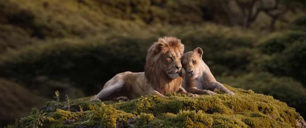 "PHOTO: A scene from ""Lion King."""
