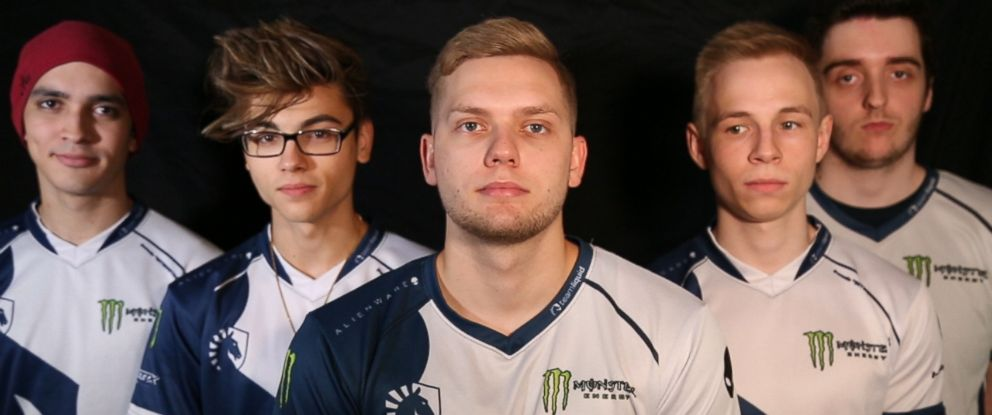 PHOTO: Team Liquids star players appear in an undated photo.