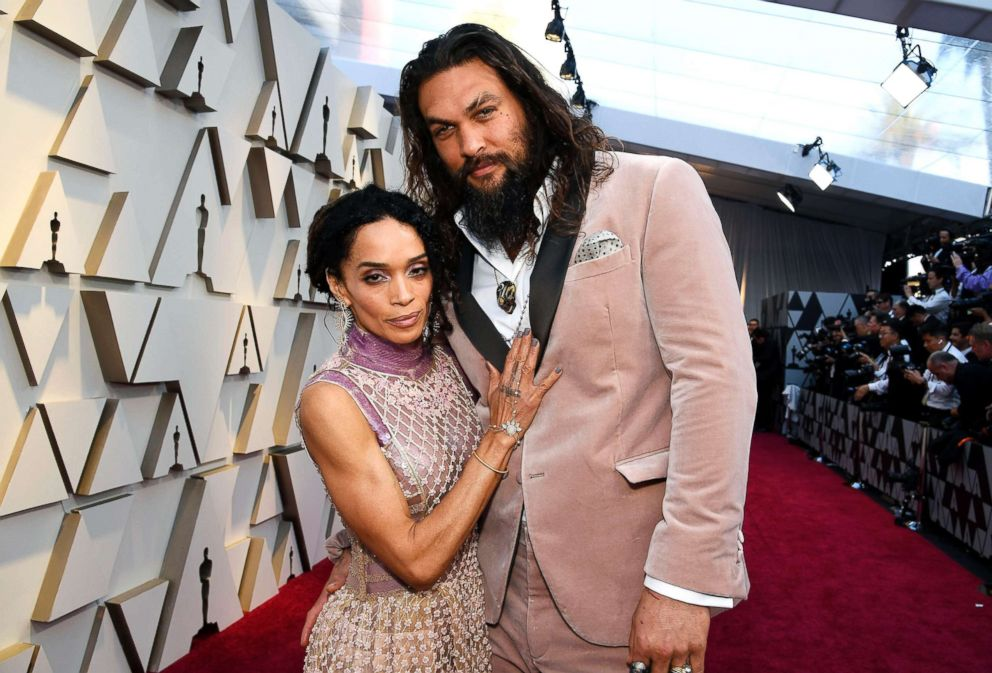 PHOTO: Lisa Bonet and Jason Momoa attend the 91st Annual Academy Awards, Feb. 24, 2019 in Hollywood, Calif.