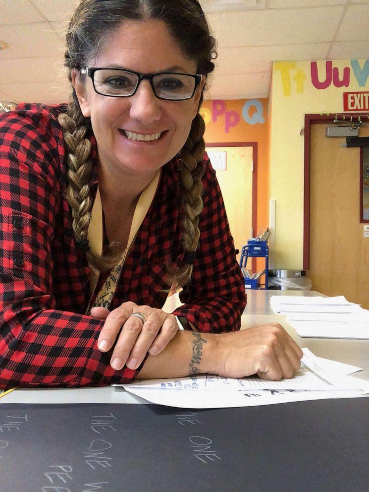 PHOTO: Lisa Kling of Phoenix, Arizona, is a Head Start teacher for low income-based pre-kindergarten.